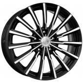 Колесный диск K&K Акцент (КС562)  7x17/4x100 D60.1 ET41 Алмаз черный