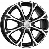 Колесный диск K&K Блюз (КС606)  6x15/4x100 D54.1 ET48 Алмаз черный