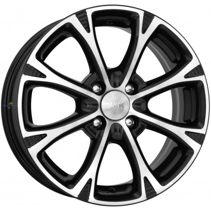 Колесный диск K&K Блюз (КС606)  6x15/4x100 D60.1 ET40 Алмаз черный
