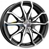 Колесный диск K&K Brent (КС733)  6x16/4x100 D60.1 ET50 Алмаз черный
