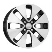 Колесный диск K&K КС582  6x15/4x100 D54.1 ET48 Алмаз черный