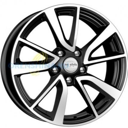 Колесный диск K&K КС699  7x17/5x114.3 D60.1 ET39 Алмаз черный