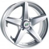 Колесный диск N2O Y244  6.5x15/4x100 D73.1 ET40 Sil